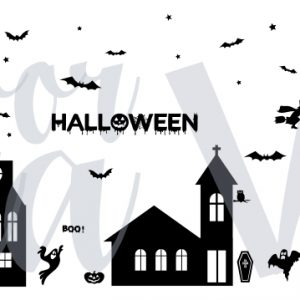 halloween-raamsticker